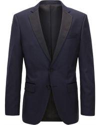 BOSS - Italian Super 120 Wool Suit Jacket, Slim Fit | Hence Cyl - Lyst