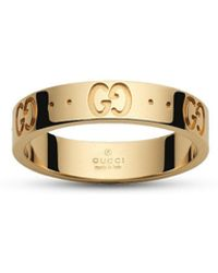 Gucci Icon Collection Ring - Metallic