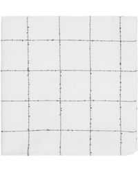 Ben Sherman - Large Check Pocket Square - Lyst