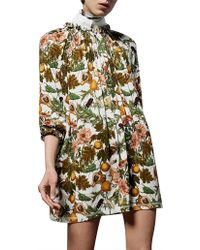 Karen Walker - Flights Of Fancy Dress - Lyst