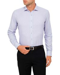 Geoffrey Beene - Gualala Gingham Body Fit Shirt - Lyst