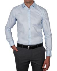 Geoffrey Beene - Paoli Stretch Pinpoint Strtech Body Fit Shirt - Lyst