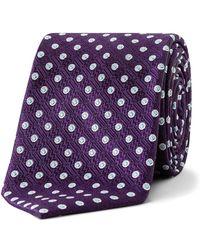 Ted Baker - Spot Tile Tie - Lyst