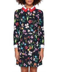 Ted Baker - Tillena Hampton Collar Dress - Lyst