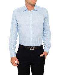 Geoffrey Beene - Cedar City Check Slim Fit Shirt - Lyst