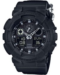 G-Shock - G Shock Duo Blk Out Series 200m W/r,w/time - Lyst