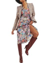 e7ce241e7c6 X Zendaya Zodiac Print Dress. $373. Eraldo · Tommy Hilfiger - Zendaya Satin Wrap  Dress - Lyst