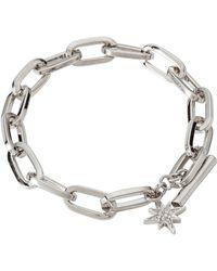 Rebecca Minkoff - Signature Link Star Charm Bracelet - Lyst