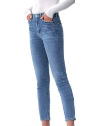 Citizens of Humanity - Cara Mid Rise Straight Jean - Lyst