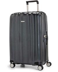 Samsonite - Litecube 76cm Spinner Graphite Suitcase - Lyst