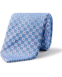 Eton of Sweden - Textured Spot Tie - Lyst