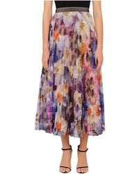 Christopher Kane - Lace Pansy Skirt - Lyst