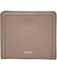Fossil - Logan Small Bifold - Lyst