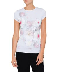 Ted Baker - Tamraa Chelsea Fitted Tee - Lyst