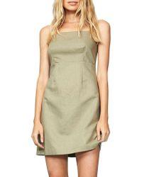 MINKPINK | Uluru Linen Slip Dress | Lyst