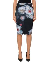 Ted Baker - Laylie Chelsea Print Pencil Skirt - Lyst
