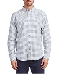 The Academy Brand - Brookes Oxford Check Shirt - Lyst