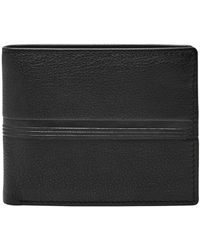 Fossil - Coin Pocket Bifold - Lyst