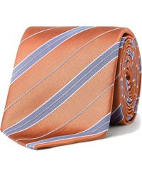 Eton of Sweden - Stripe Tie - Lyst