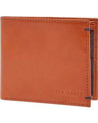 Ted Baker - Vivid Coloured Bifold Wallet - Lyst