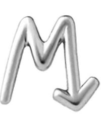 fd429aac53e0 Karen Walker - M Initial Love Letter Single Stud - Lyst