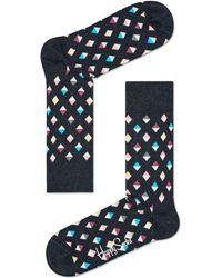 Happy Socks | Mini Diamond Sock | Lyst