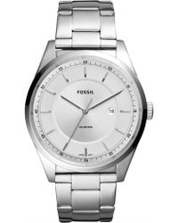Fossil - Mathis Silver Watch - Lyst