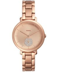 Fossil - Jacqueline Rose Gold-tone Watch - Lyst