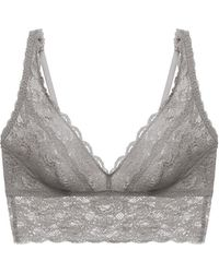 Cosabella - Never Say Never Plungie Longline Bralette - Lyst