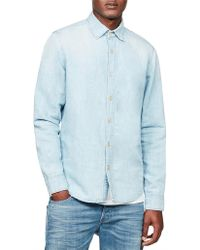 G-Star RAW - Bristum Chambray Shirt L/s - Lyst