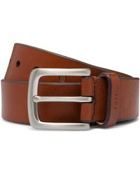 Fossil - Joe Natural Leather Belt - Lyst