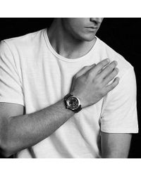 David Yurman - Revolution 43.5mm Stainless Steel Automatic Watch - Lyst