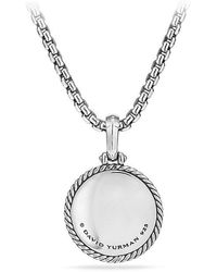 David Yurman | Cable Collectibles Tree Of Life Amulet With Diamonds | Lyst