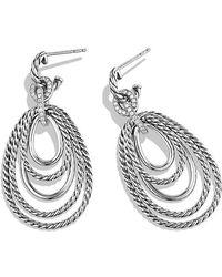 David Yurman   Mobile Drop Earrings With Diamonds   Lyst