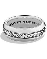 David Yurman | Cable Classic Band Ring | Lyst