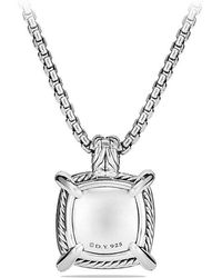 David Yurman - Châtelaine Pendant With Hematine And Diamonds, 20mm - Lyst