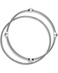 David Yurman - Color Classics Bangles With Crystal - Lyst