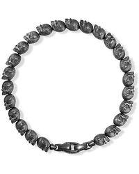 David Yurman | Spiritual Beads Skull Bracelet | Lyst