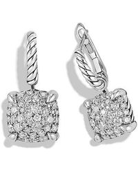 David Yurman - Châtelaine Drop Earrings With Diamonds - Lyst