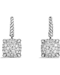 David Yurman - Châtelaine Drop Earrings With Diamonds - Lyst