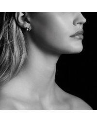 David Yurman - Châtelaine® Earrings With Garnet In 18k Gold, 8mm - Lyst