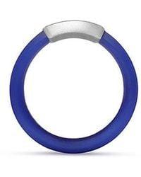 David Yurman - Hex Band Ring In Blue, 7mm - Lyst