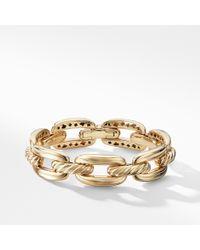 David Yurman - Wellesley Chain Link Bracelet In 18k Gold - Lyst