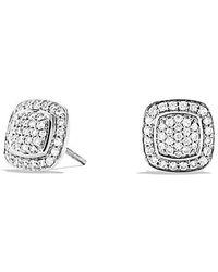 David Yurman - Petite Albion Earrings With Diamonds - Lyst