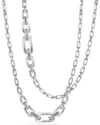 David Yurman - Wellesley Linktm Necklace With Diamonds - Lyst