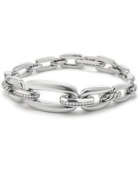 David Yurman - Wellesley Linktm Chain Bracelet With Diamonds - Lyst