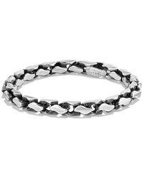 David Yurman - Large Fluted Chain Bracelet, 7.5mm - Lyst