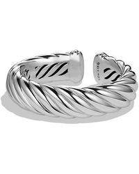 David Yurman - Sculpted Cable Bracelet, 18mm - Lyst