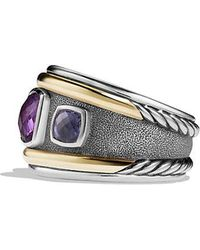 David Yurman - Renaissance Ring With Amethyst, Iolite And 14k Gold - Lyst