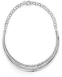 David Yurman - Pure Form® Collar Necklace - Lyst